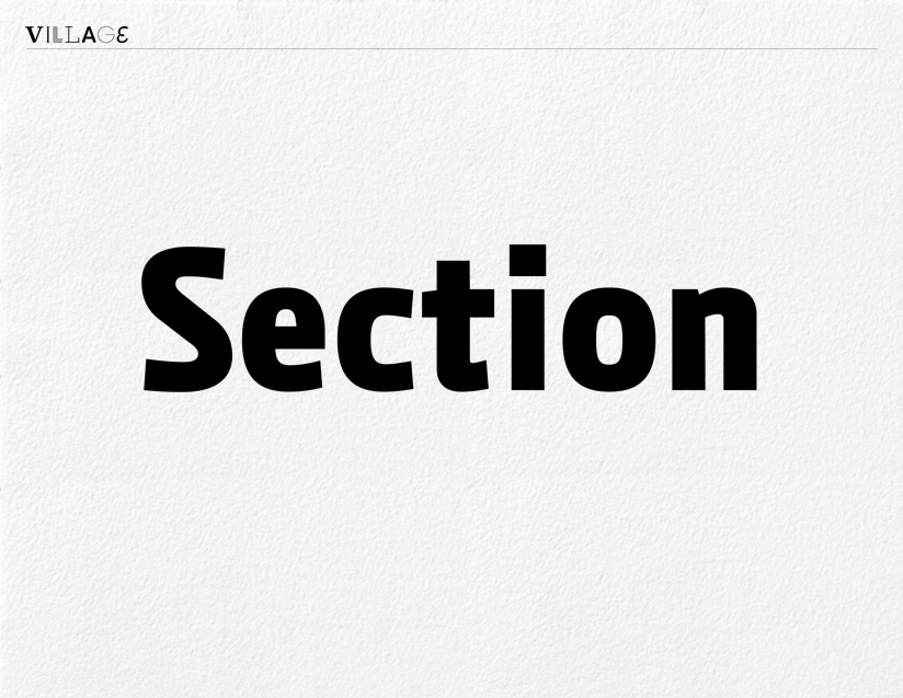 Vllg luxtypo section