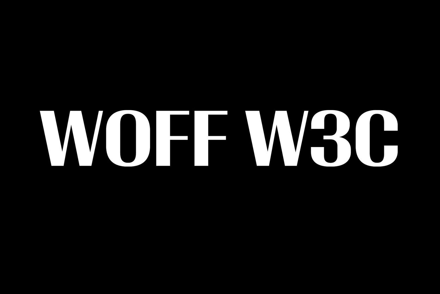 Vllg typesupply news woff w3c