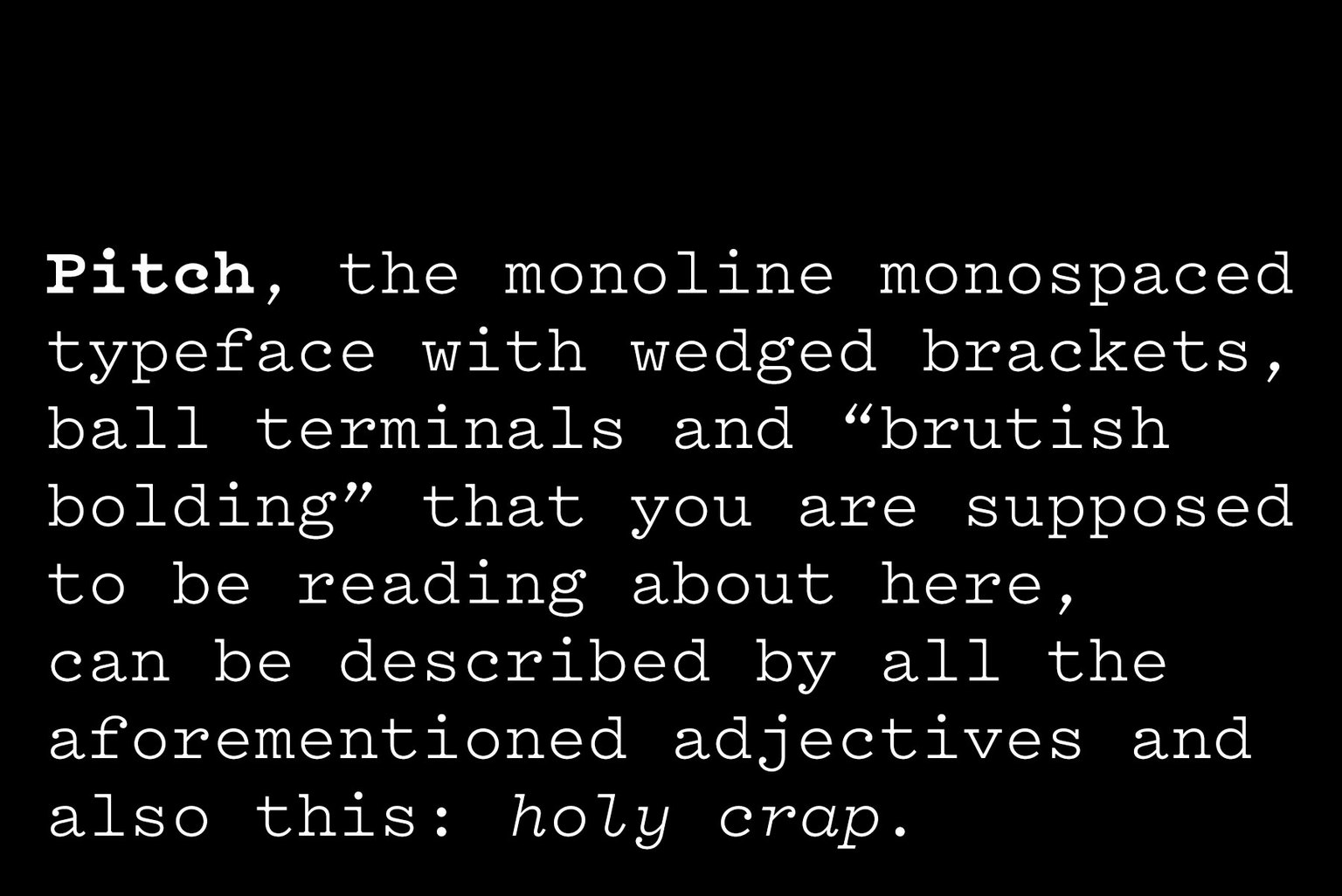 Vllg klim news pitch typographica