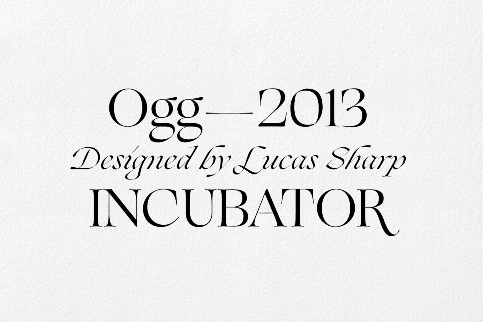 Vllg incubator ogg